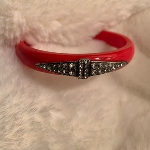 J. CREW by Lulu Frost Red Bangle